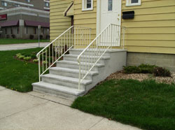 Wieser-Doric - Precast Concrete Steps: Versatile, fast, and economical.